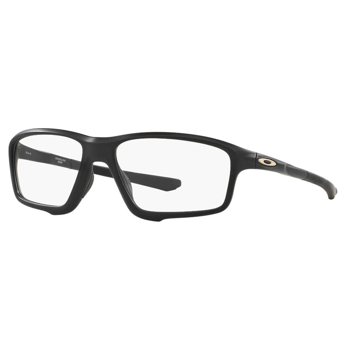 Óculos de Grau Masculino Oakley Crosslink Zero OX8076 Preto Fosco