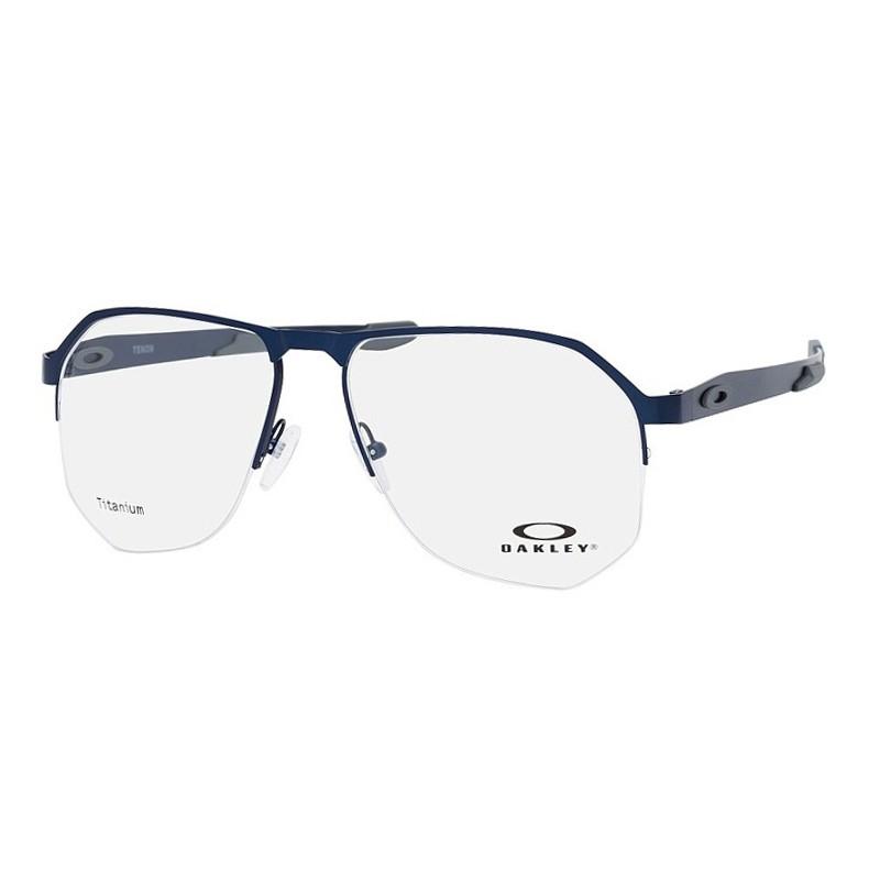 Óculos de Grau Masculino Oakley Tenon OX5147 Titanium Azul Fosco