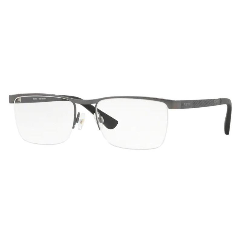 Óculos de Grau Masculino Patini P91177 Cinza Fosco Tamanho 54
