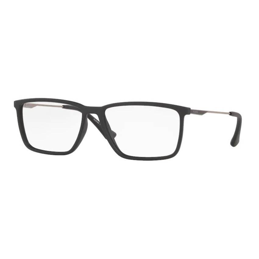 Óculos de Grau Masculino Platini Grande P93156 Preto Fosco