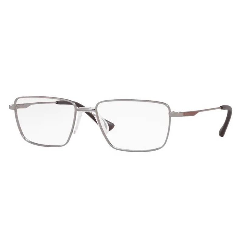 Óculos de Grau Masculino Platini P91185 Cinza Fosco Tamanho 55