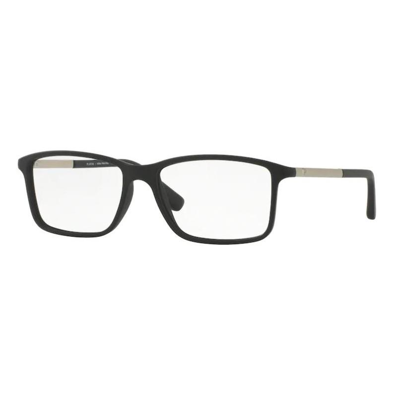Óculos de Grau Masculino Platini P93123 Preto Fosco
