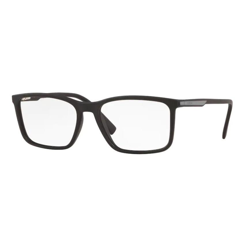 Óculos de Grau Masculino Platini P93163 Preto Fosco Tamanho 57