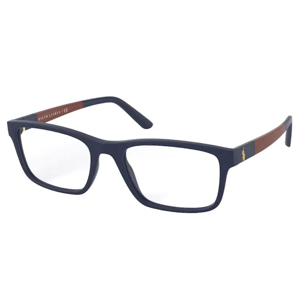 Óculos de Grau Masculino Polo PH2212 Azul Marinho Fosco