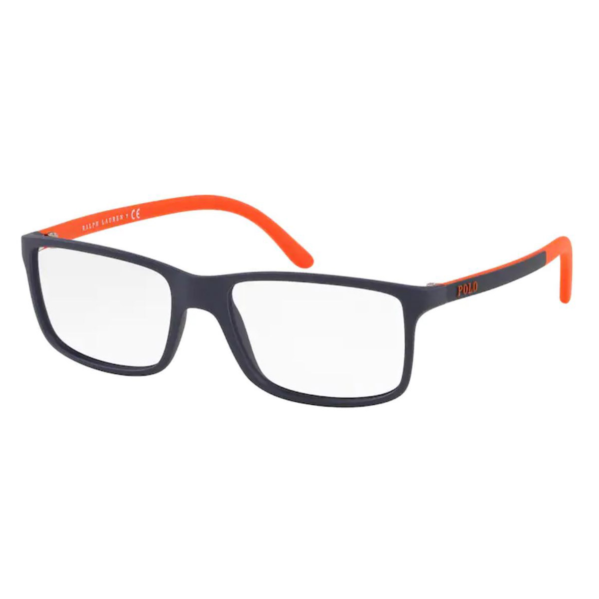 Óculos de Grau Masculino Polo Ralph Lauren PH2126 Azul com Laranja