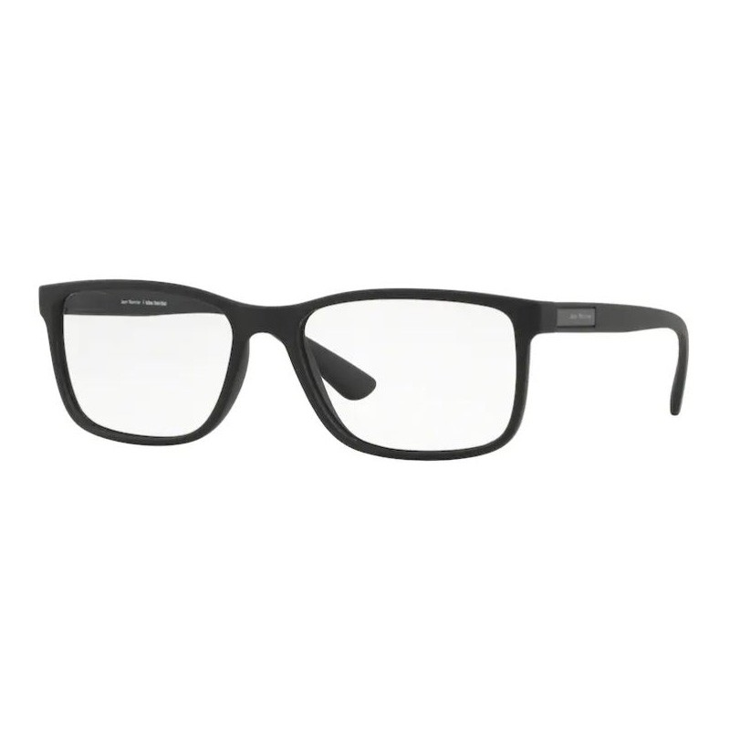 Óculos de Grau Masculino Preto Fosco Jean Monnier J83173