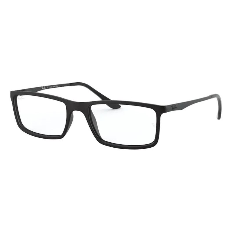 Óculos de Grau Masculino Ray Ban RX7026L Preto Fosco