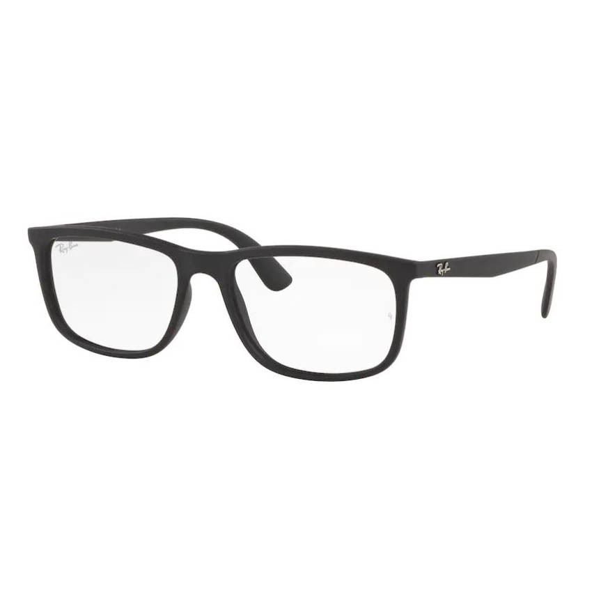 Óculos de Grau Masculino Ray Ban RX7171L Preto Fosco
