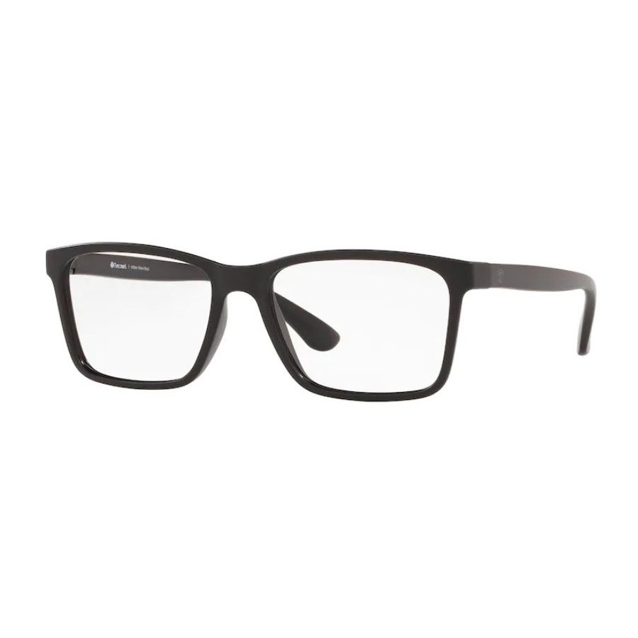 Óculos de Grau Masculino Tecnol TN3063 Preto Fosco