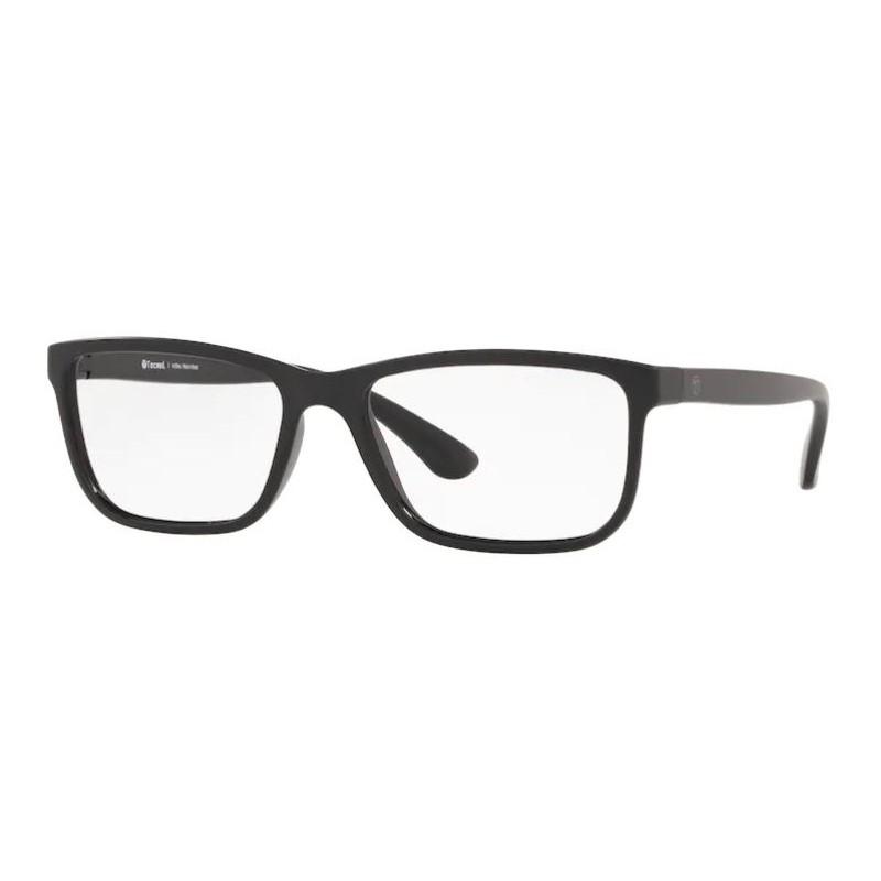 Óculos de Grau Masculino Tecnol TN3064 Preto Fosco