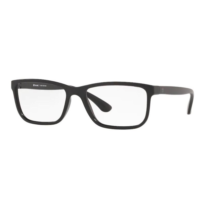 Óculos de Grau Masculino Tecnol TN3066 Preto Fosco