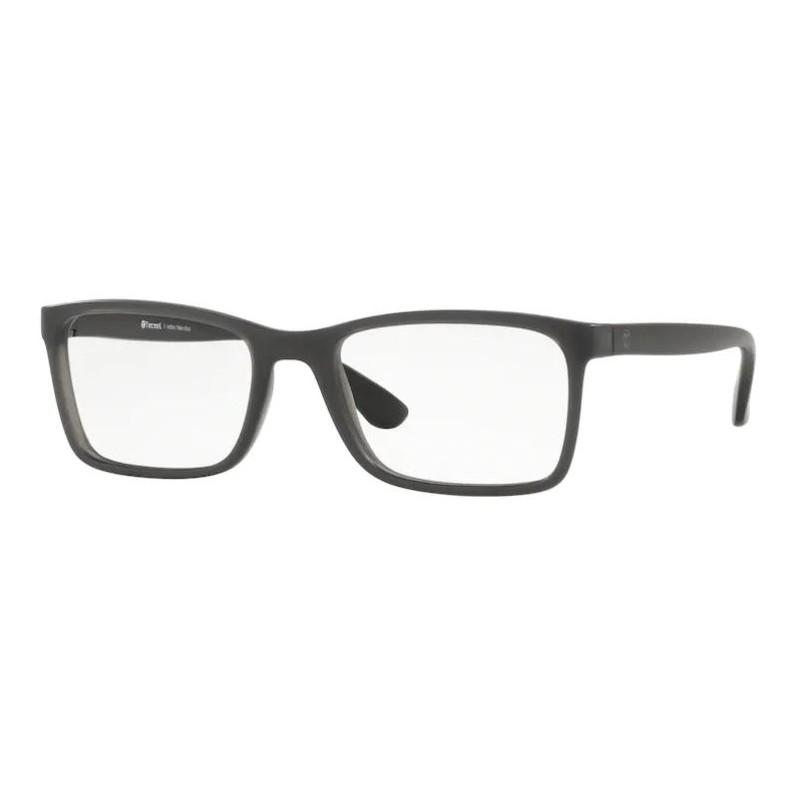 Óculos de Grau Masculino Tecnol TN3068 Cinza Fosco