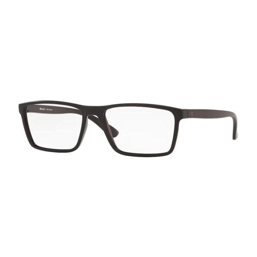 Óculos de Grau Masculino Tecnol TN3068 Preto Fosco Grande