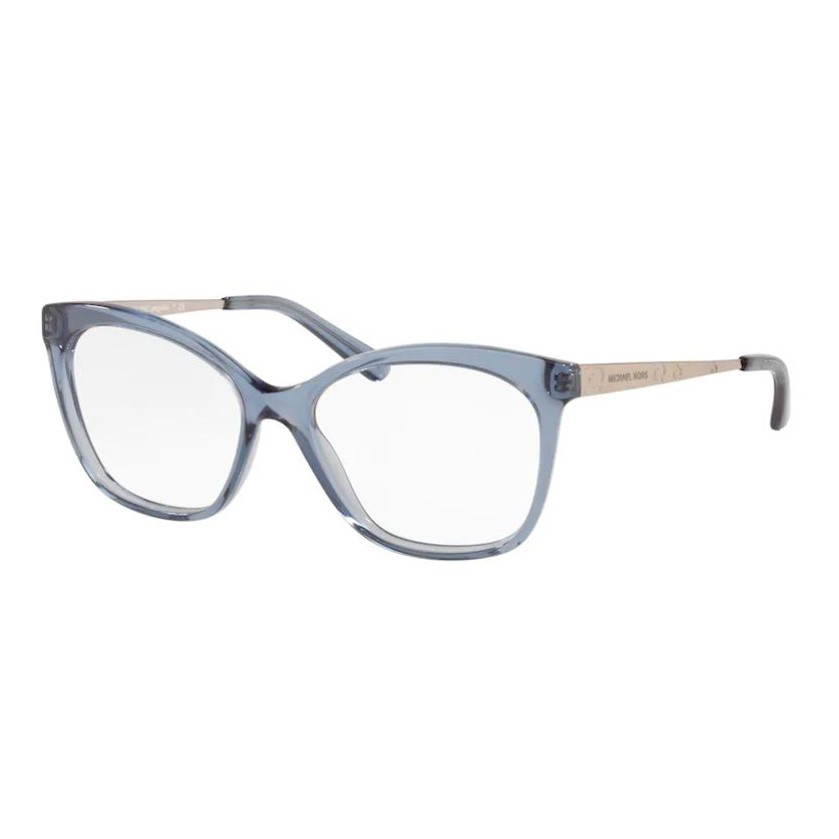 Óculos de Grau Michael Kors Anguilla MK4057 Azul Translúcido