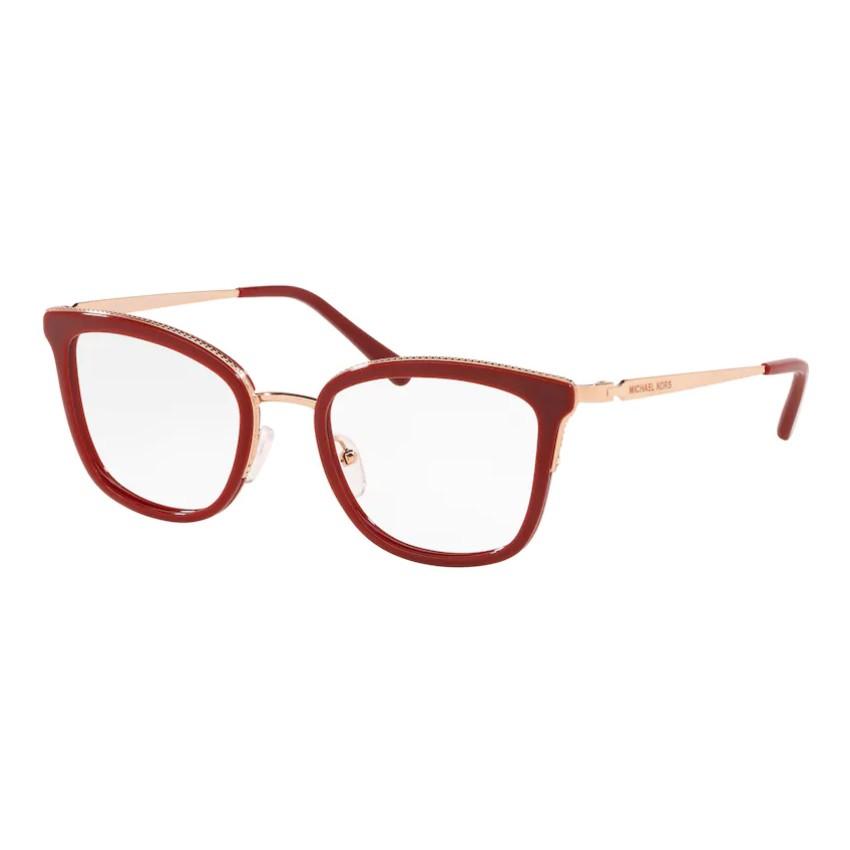 Óculos de Grau Michael Kors Coconut Grove MK3032 Vermelho e rose