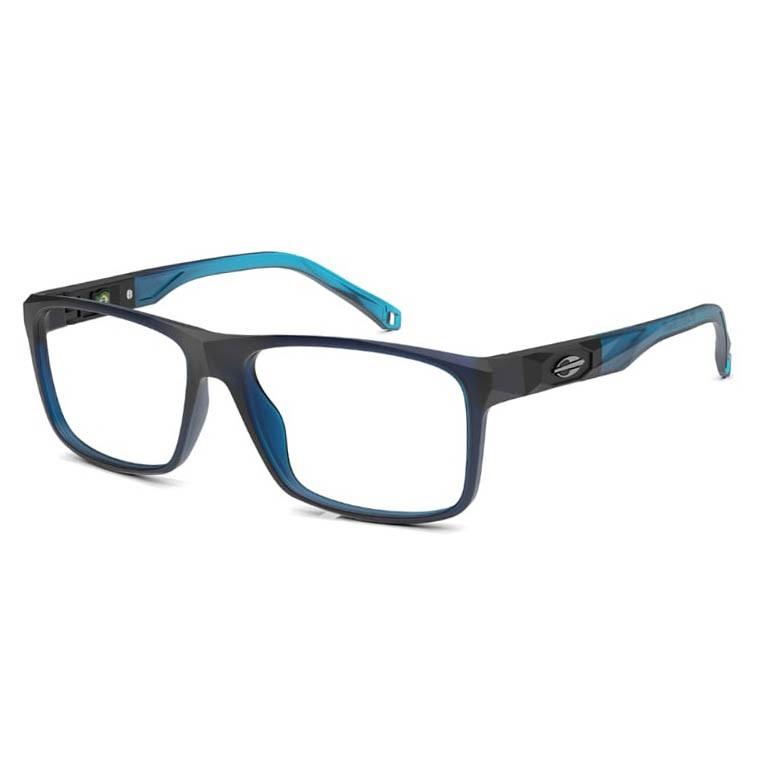 Óculos de Grau Mormaii Kyoto M6083 Azul Translúcido Fosco