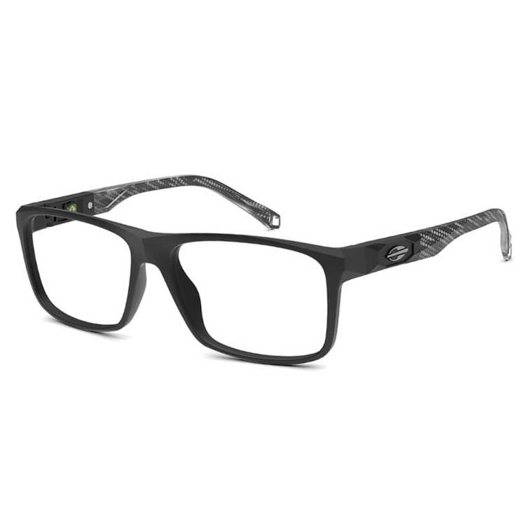 Óculos de Grau Mormaii Kyoto M6083 Preto com Cinza Fosco