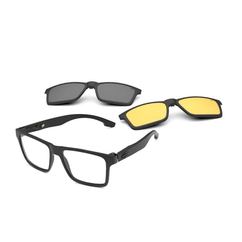 Óculos de Grau Mormaii Swap NG Duo M6098 Preto Fosco