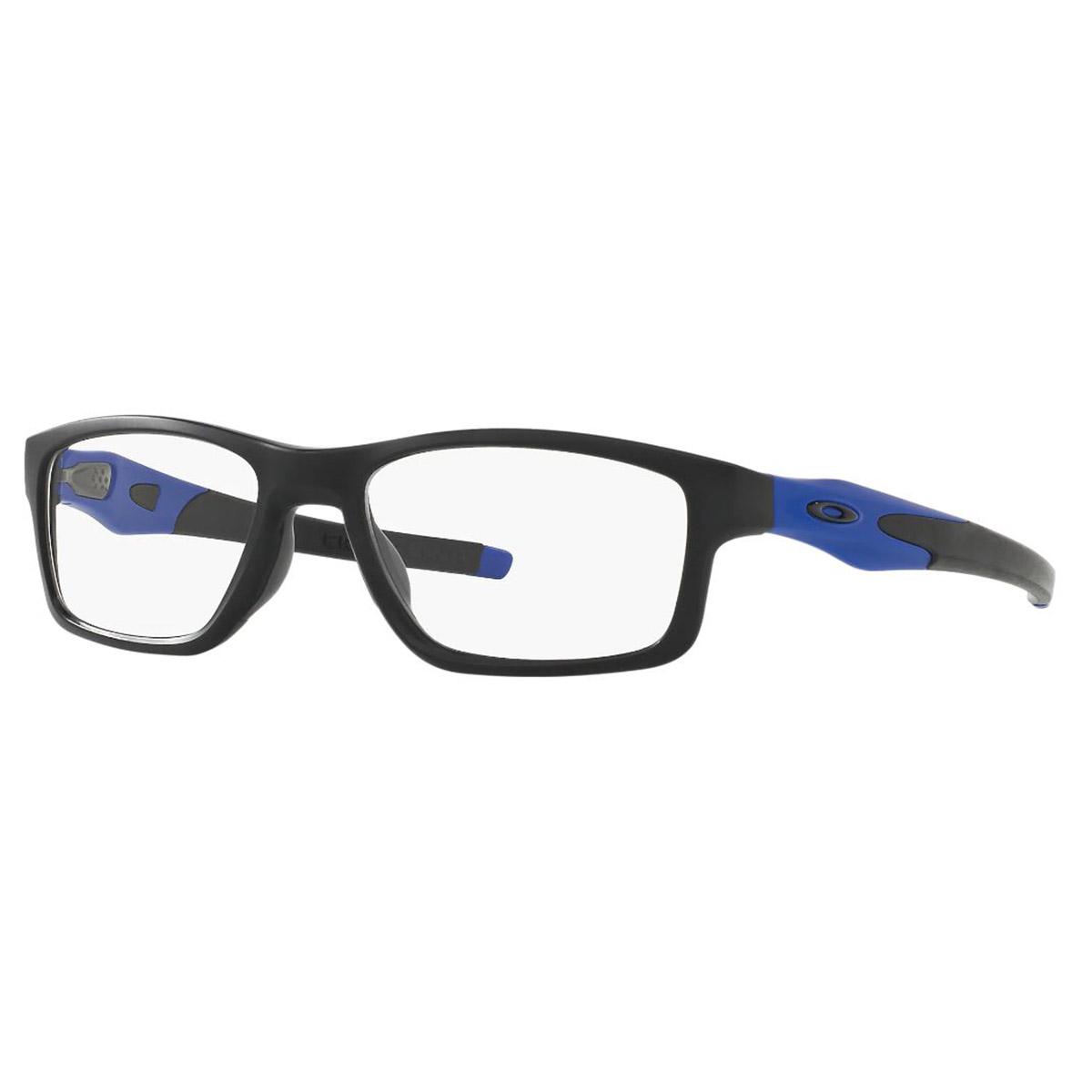 Óculos de Grau Oakley Crosslink MNP Masculino OX8090 Preto com Azul