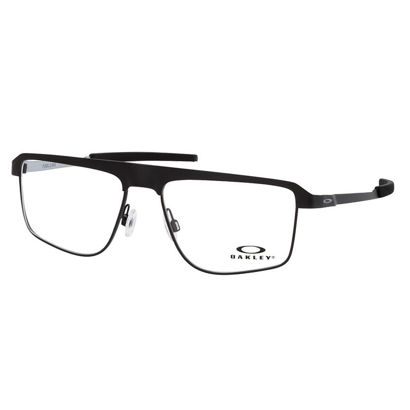Óculos de Grau Oakley Fuel Line OX3245 Metal Preto Fosco Quadrado
