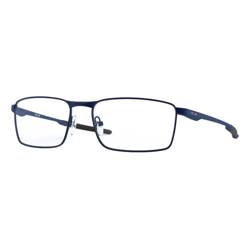 Óculos de Grau Oakley Fuller OX3227 Metal Azul Fosco Masculino