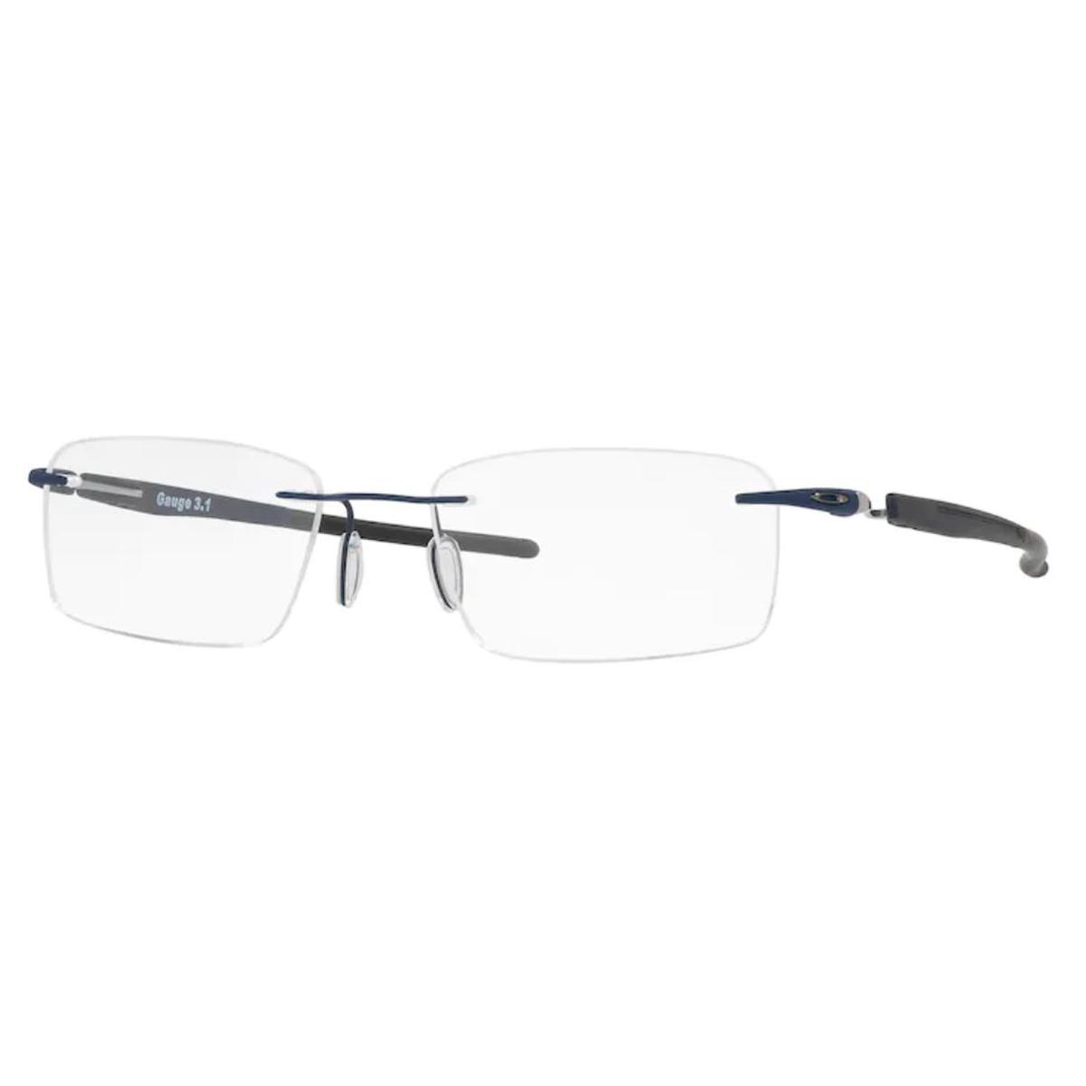 Óculos de Grau Oakley Gauge 3.1 OX5126 Titânio Azul Marinho