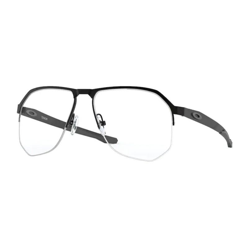 Óculos de Grau Oakley Tenon Masculino OX5147 Preto Fosco Titanium