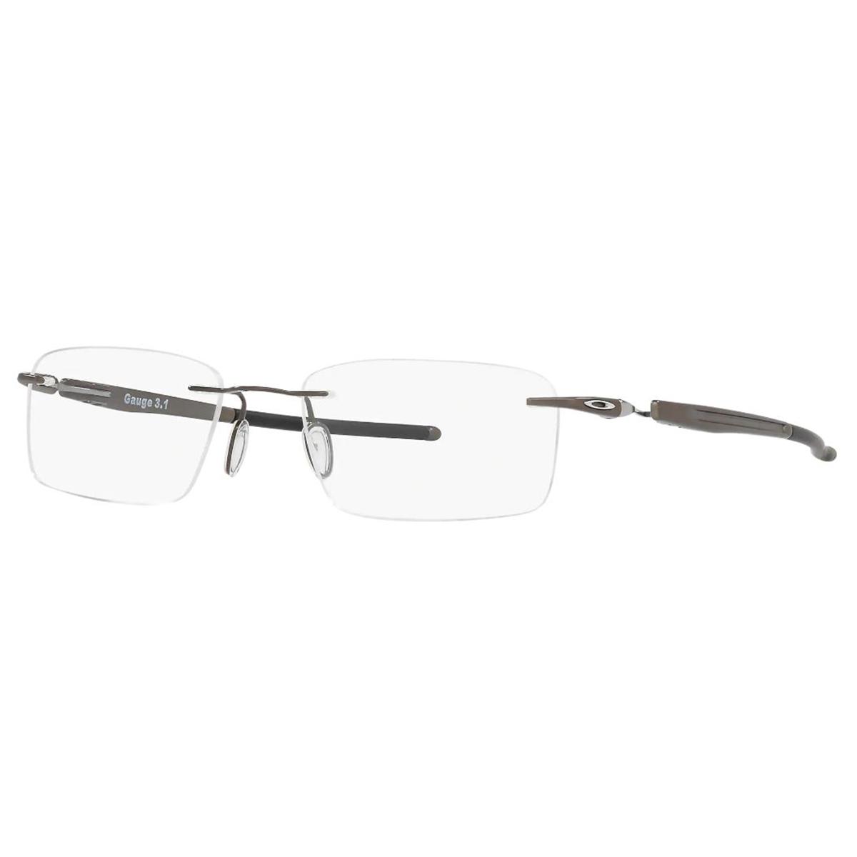 Óculos de Grau Oakley Titanium Gauge 3.1 OX5126 Parafusado Prata