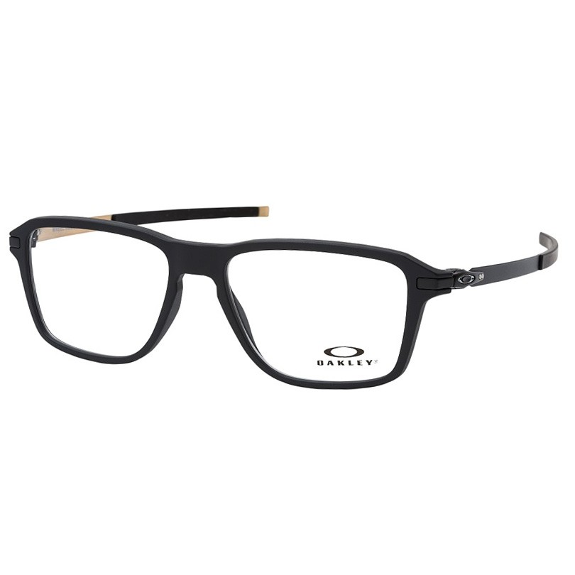 Óculos de Grau Oakley Wheel House OX8166 Masculino Preto Fosco