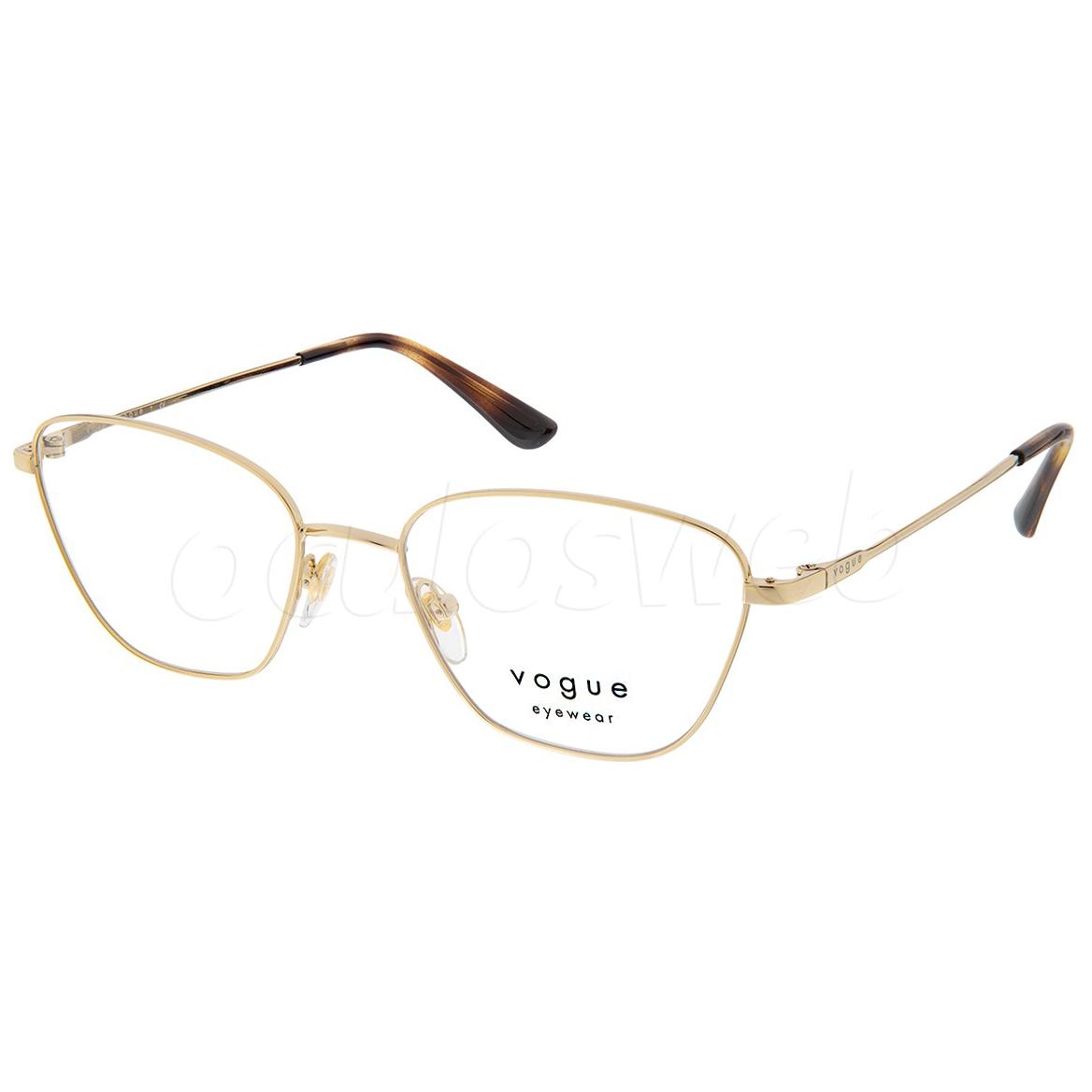 Óculos de Grau Pequeno Vogue VO4163 Dourado Brilho