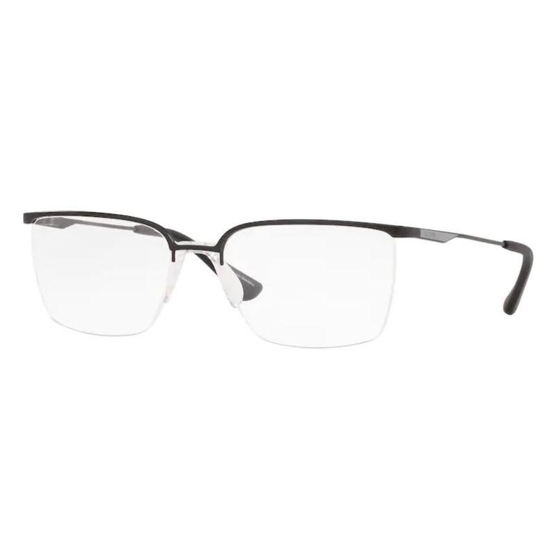Óculos de Grau Platini Grande P91184 Preto Fosco Fio de Nylon
