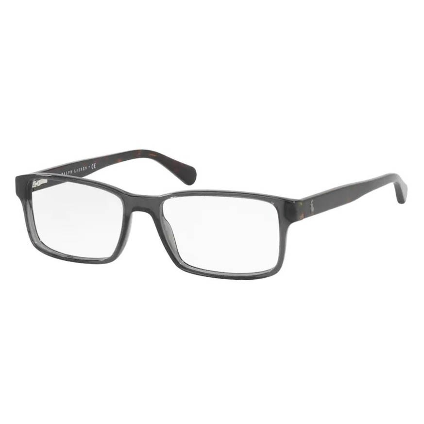 Óculos de Grau Polo Ralph Lauren Masculino PH2123 Cinza Brilho