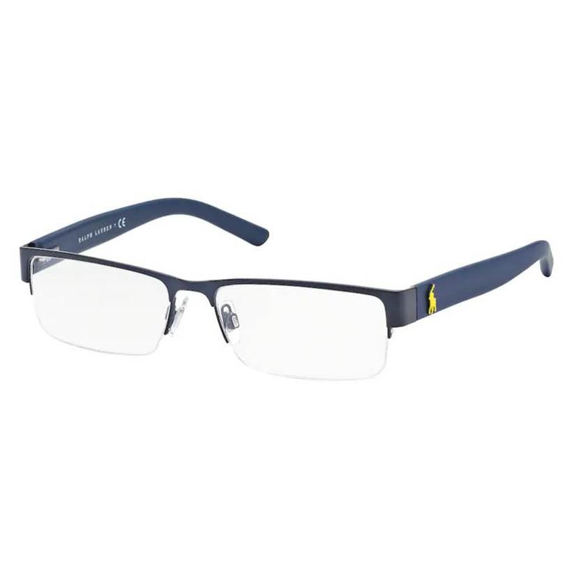 Óculos de Grau Polo Ralph Lauren PH1148 Metal Azul Fosco
