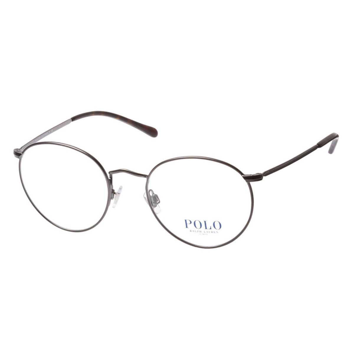 Óculos de Grau Polo Ralph Lauren PH1179 Redondo Cinza Fosco