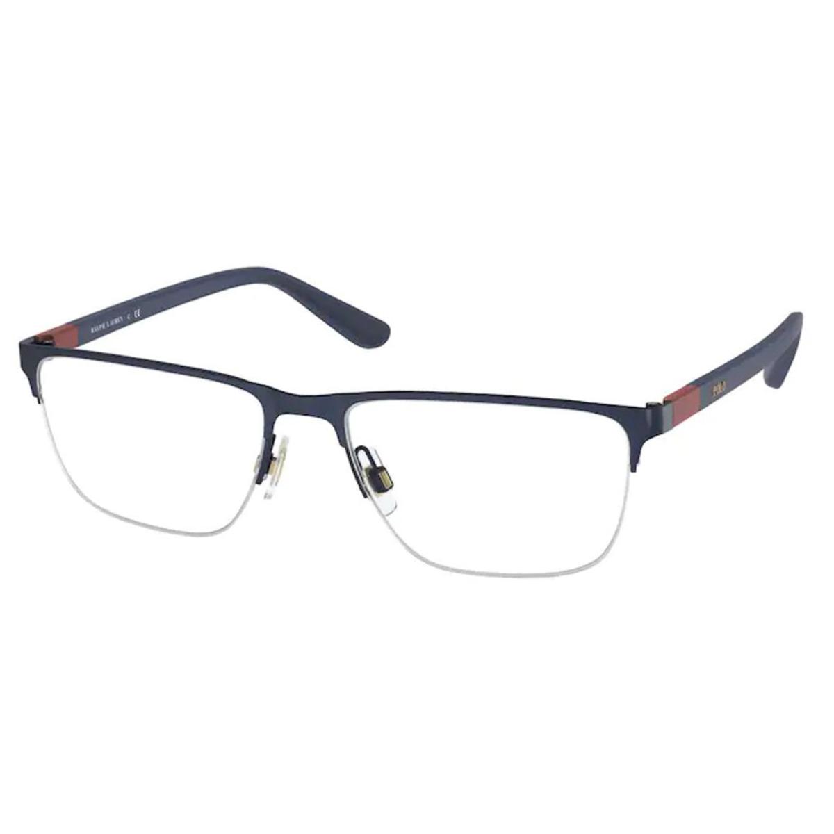 Óculos de Grau Polo Ralph Lauren PH1206 Metal Azul Fosco