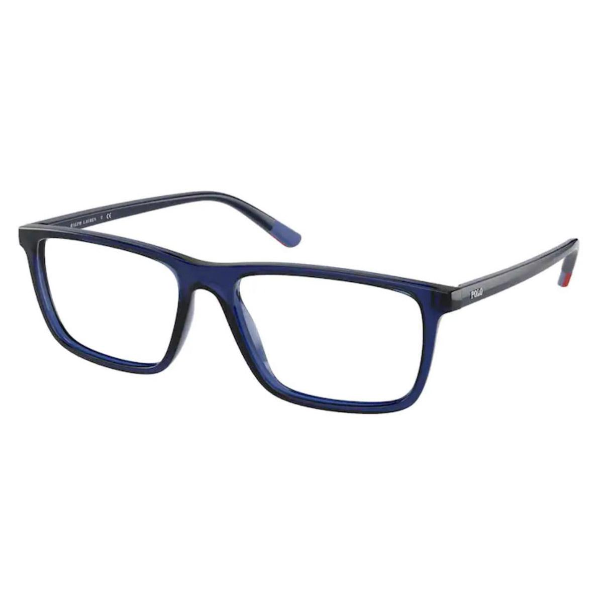 Óculos de Grau Polo Ralph Lauren PH2229 Azul Translúcido