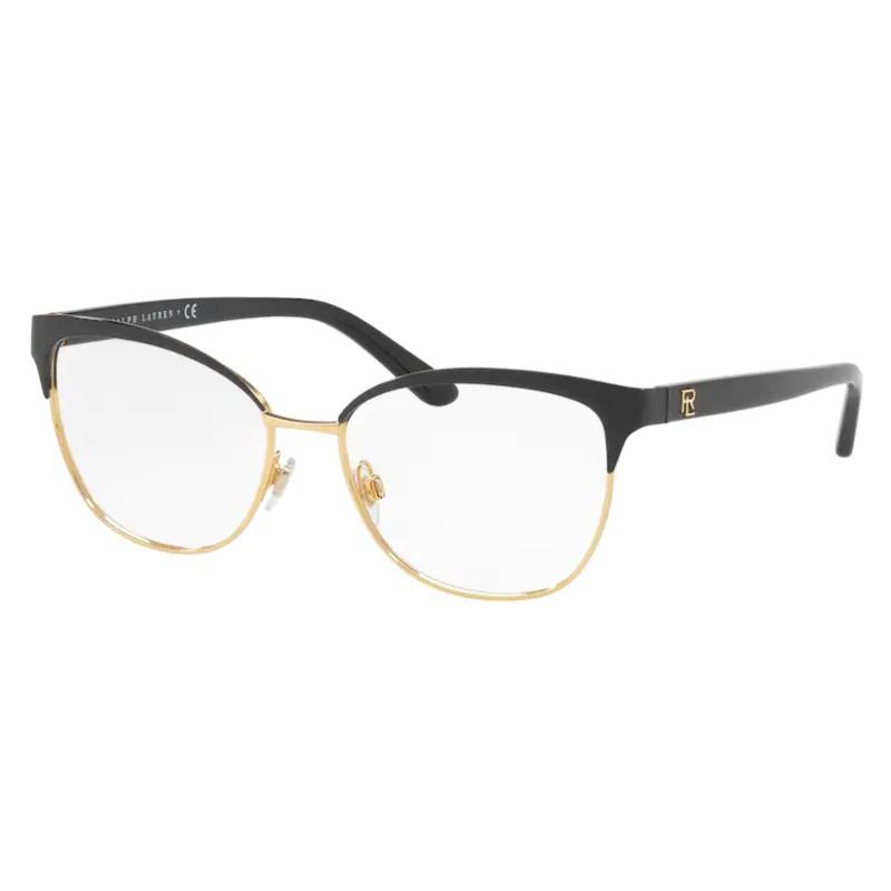 Óculos de Grau Ralph Lauren RL5099 Feminino Preto com Dourado