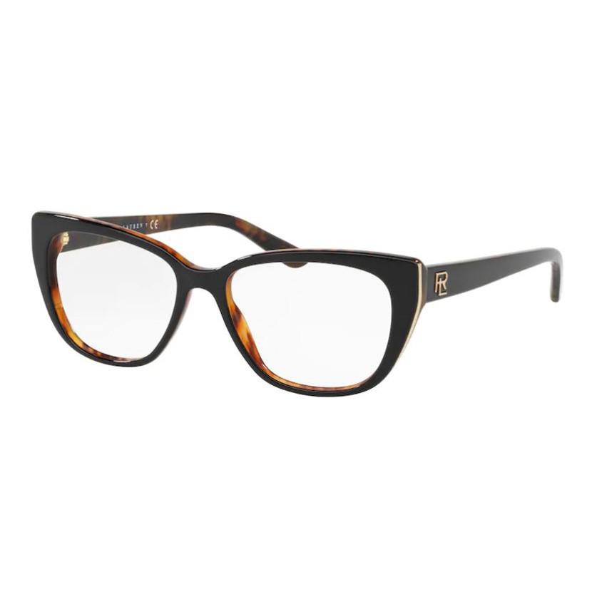 Óculos de Grau Ralph Lauren RL5161 Preto com Marrom Havana