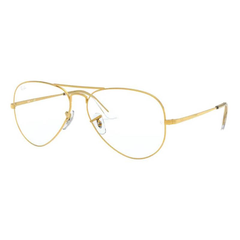 Óculos de Grau Ray Ban Aviador RX6489 Legend Gold Metal