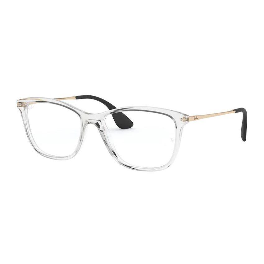 Óculos de Grau Ray Ban Feminino RX7135L Transparente com Dourado