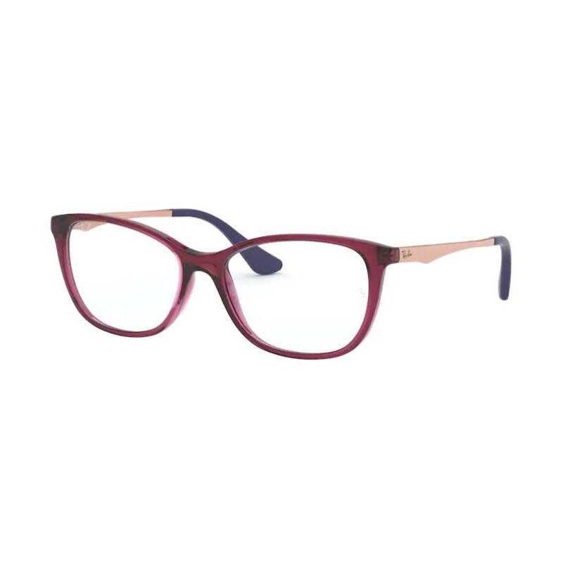 Óculos de Grau Ray Ban Infantil Feminino RY1565L Bordô Brilho