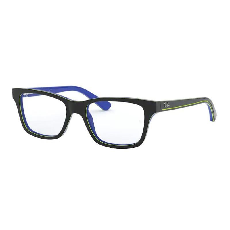 Óculos de Grau Ray Ban Junior RY1536 Cinza com Azul Tamanho 48