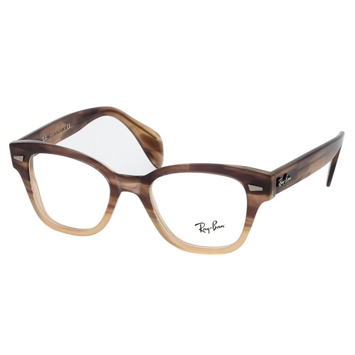 Óculos de Grau Ray Ban RX0880 Marrom Havana Degrade