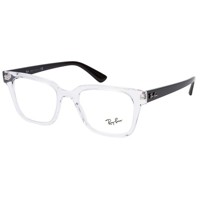 Óculos de Grau Ray Ban RX4323VL Transparente Quadrado Tamanho 51