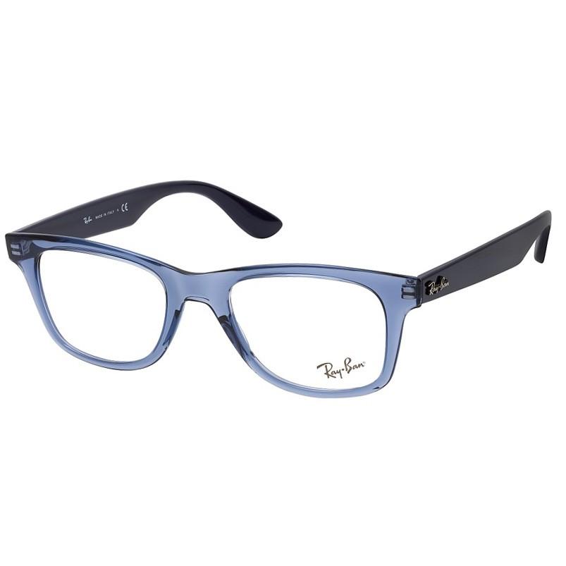 Óculos de Grau Ray Ban RX4640VL Azul Transparente Quadrado
