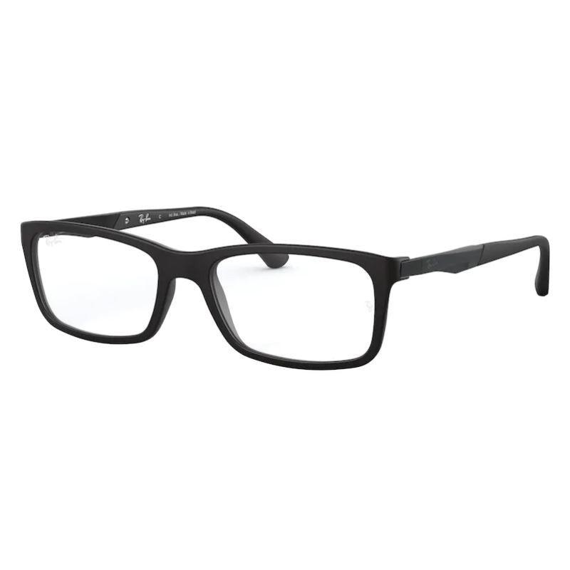 Óculos de Grau Ray Ban RX7040L Preto Fosco Tamanho 53