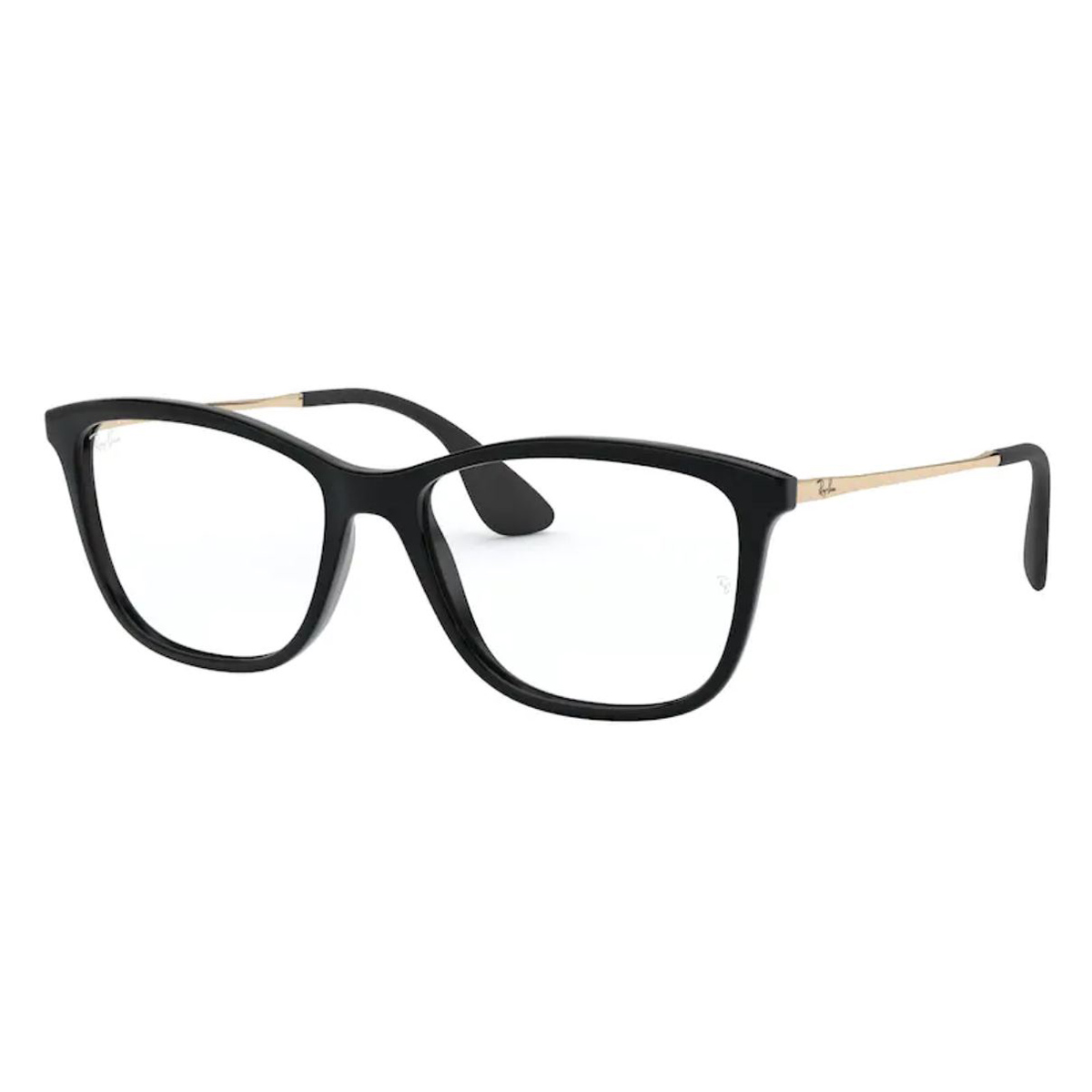 Óculos de Grau Ray Ban RX7135L Preto Brilho Tamanho 54