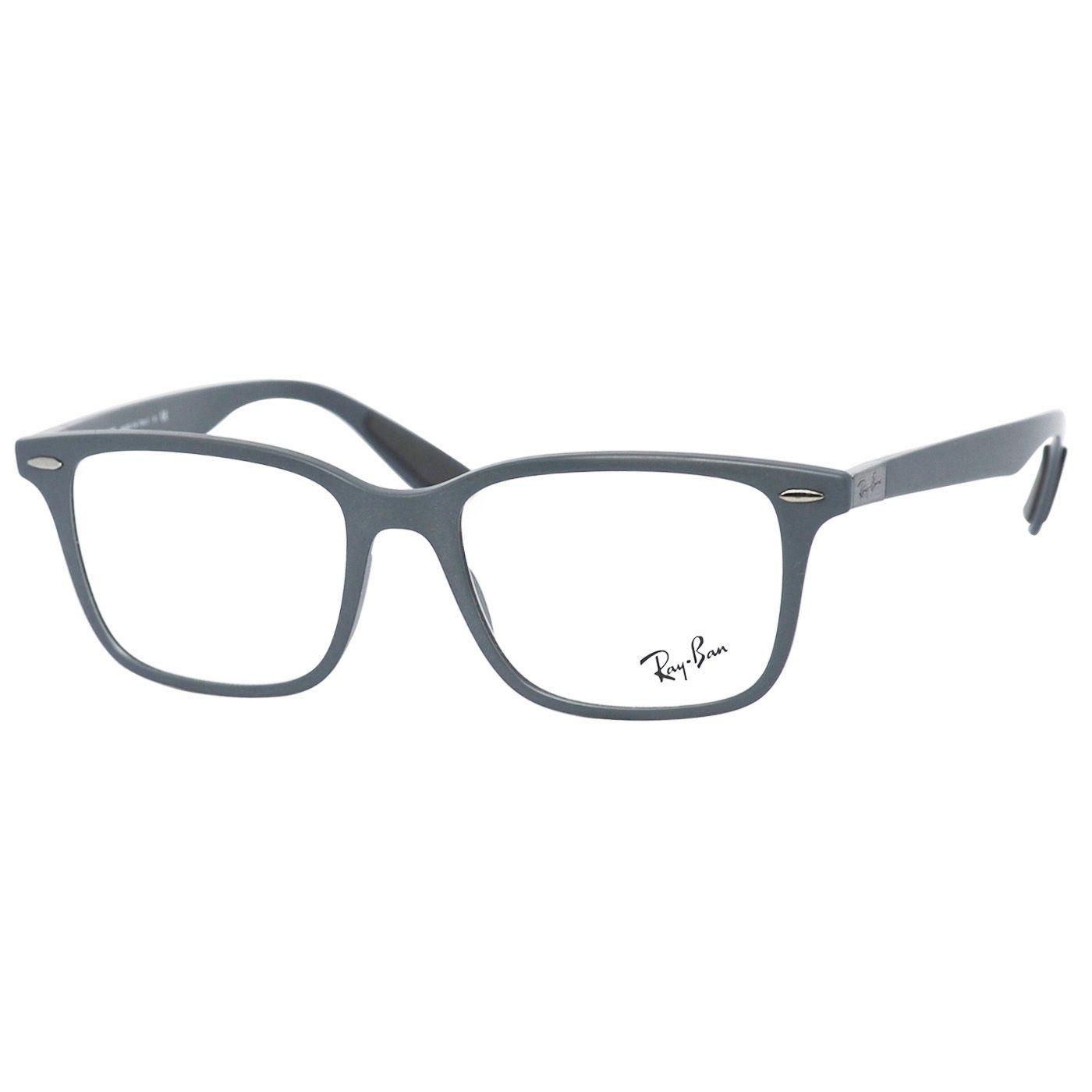 Óculos de Grau Ray Ban RX7144 Liteforce Acetato Cinza Fosco