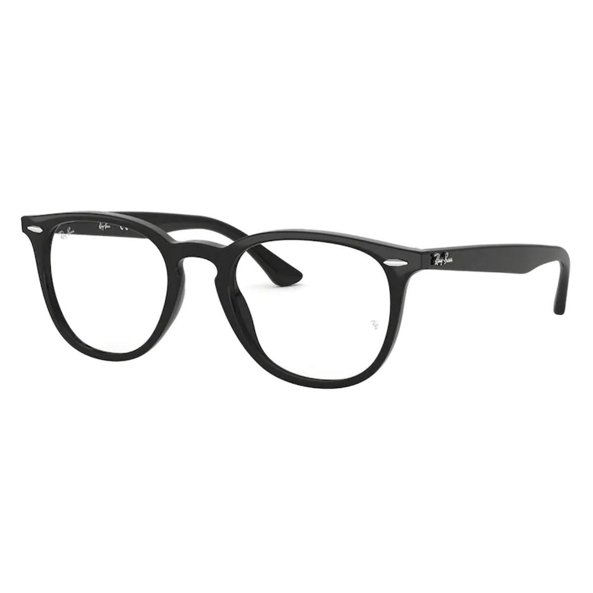 Óculos de Grau Ray Ban RX7159 Preto Brilho Tamanho 52