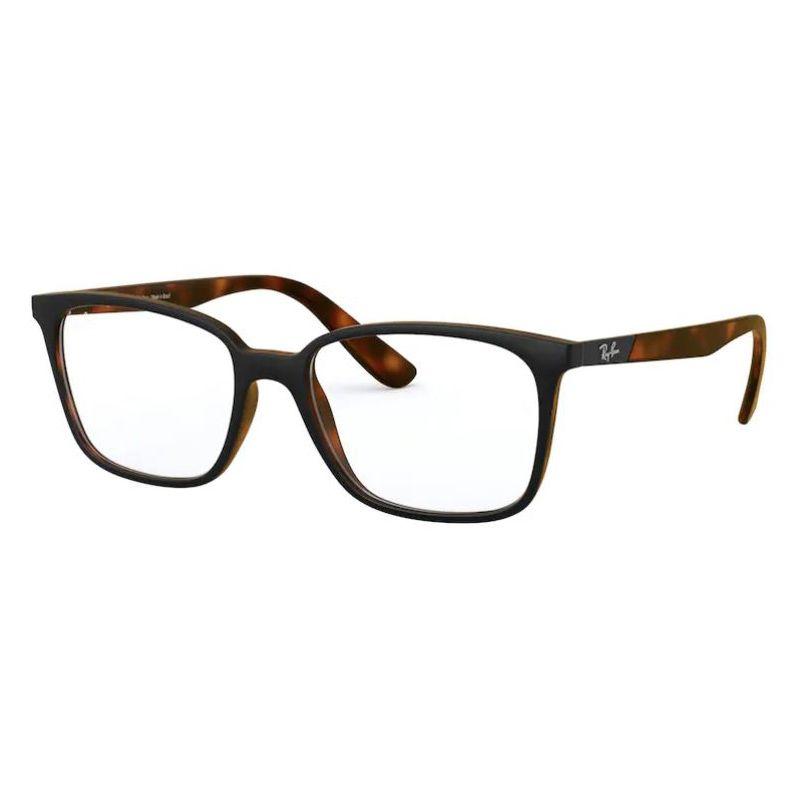 Óculos de Grau Ray Ban RX7167L Marrom Havana com Preto